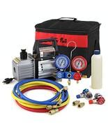 XtremepowerUS 3CFM 1/4HP Air Vacuum Pump HVAC R134a R12 R22 R410a A/C Re... - $127.80