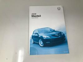 2008 Mazda 3 Owners Manual OEM Z0D17 - $47.99