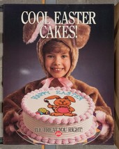 Vintage Dairy Queen Promotional Poster Cool Easter Cakes 1990 dq2 - $73.83