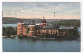 Gripsholm Castle Mariefred Södermanland Sweden 1910c postcard - $6.44