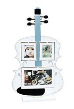 5 inch+3 inch Creative Cartoon Swing Sets Children's Photo Frame Guitar Model