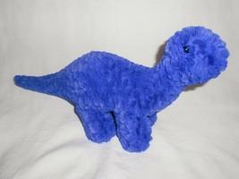 Manhattan Toy Little Jurassics Herb Blue Dinosaur Plush Stuffed Animal T... - $19.77