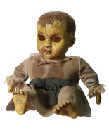 Creepy Gothic Horror HAUNTED BABY DOLL Spooky Halloween Decor Haunted Ho... - £29.96 GBP