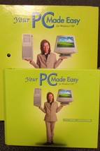 """YOUR PC MADE EASY WINDOWS XP - 17 discs, 2.25"""" insert pages for sections... - $51.43"""