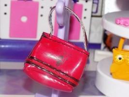 Barbie Dress up accessories lil devil black and red purse handbag clutch... - $5.99
