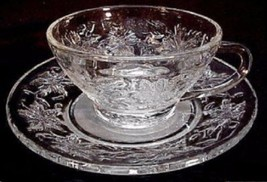 Unused Princess House FANTASIA Tea Cup & Saucer Excellent - $9.89