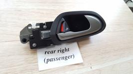 06-11 Honda Civic Rear Right Passenger Inner Opener Handle Grey - $39.59