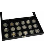 Clear COIN HOLDER DOLLAR Case Storage display JAR TRAY BOX for 18 pocket... - $39.95