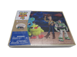 Toy Story 4 , 5 Wood Puzzles - $24.05