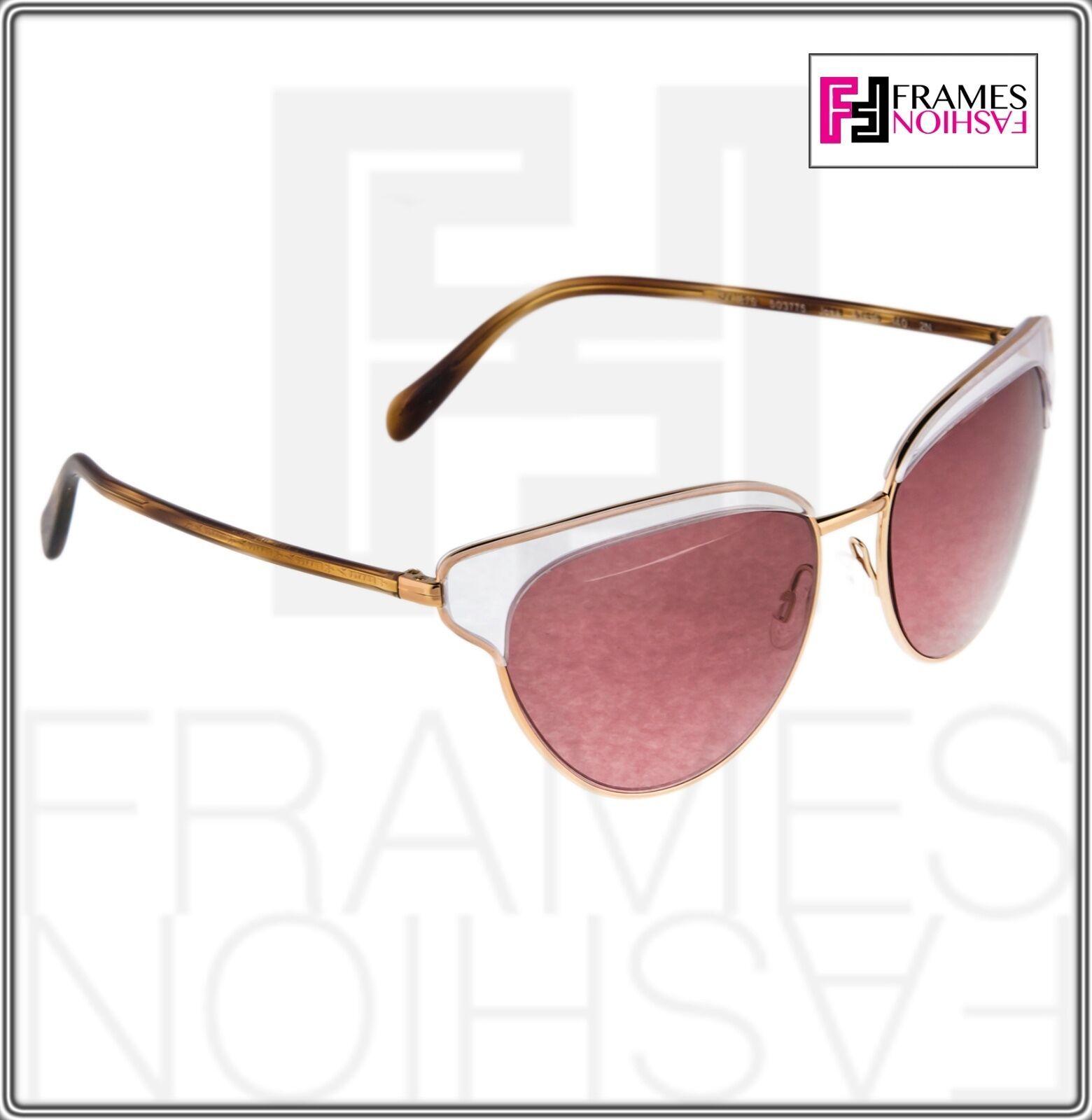 OLIVER PEOPLES JOSA OV1187S Rose Gold Pink Crystal Cat Eye Sunglasses 1187 image 7