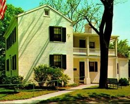 Vtg Chrome Carte Postale Clovernook Ohio Oh Alice Et Phoebe Cary Cottage... - $19.94
