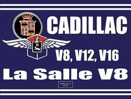 Cadillac La Salle V8, Cadillac Emblem Metal Sign - $29.95
