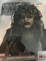 Zombie Rocker Wig Undead Rock Star Fancy Dress Halloween Adult Costume Accessory - $19.79