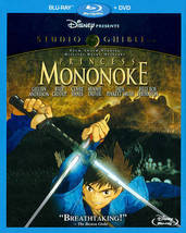 Disney Princess Mononoke [Blu-ray + DVD]