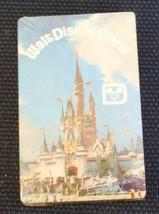 Vintage Disney  World Playing Cards Cinderella's Castle Sealed - $11.40