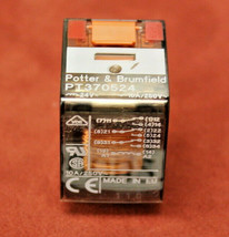 Potter & Brumfield PT370524 Relay 3PDT 10A 24 VAC New - $12.86