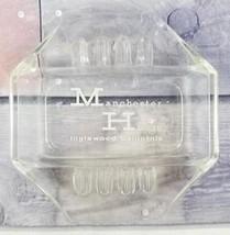 Manchester House Motel Inglewood, California Advertising Hexagonal Glass... - $7.91