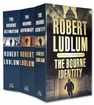 Robert Ludlum The Bourne Trilogy 3 Books Set Pack [Paperback] Robert Ludlum - $23.82