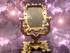 HAUNTED MIRROR HALLOWEEN PORTAL OF BEAUTY YOUTH LUCK AND WEALTH SAMHAIN MAGICK - $999.77