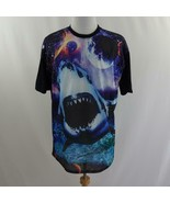 Chemistry Mesh Front Shark Graphic T Shirt Mens Sz XL - $33.77