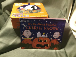Halloween Book & Jigsaw Puzzle: It's The Great Pumpkin, Charlie Brown (Peanuts) - $34.60