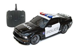 Ford Shelby GT500 Super Snake 1/18 Radio Control Police Car w/ Light - $29.02
