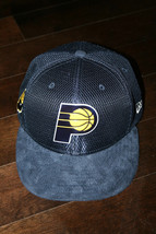 Indiana Pacers Snapback Official Navy Baseball Cap Hat NBA Draft New Era... - $14.99