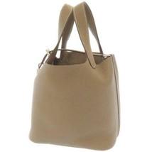 HERMES Picotin Lock PM Taurillon Clemence Etoupe Handbag France #D Authe... - $4,632.00