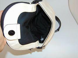 Marc by MARC JACOBS New Q Perforated Mini Natasha Bag  Black/Milk image 7