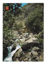 Morocco Chaouen Ras El Ma Waterfall Source of Rasaelma River 4X6 Postcard - $4.99