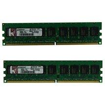 Kingston 2GB (2x1GB) KD6502-ELG 2Rx8 PC2-5300 (DDR2-667) 667MHz ECC 240 Pin 1.8V - $14.75