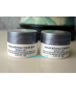 $60 value Lancome High Resolution Eye Refill-3x Cream jars .5 oz total - $20.78