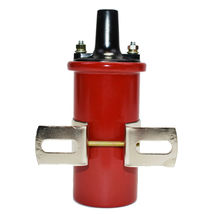 Oil-Filled Canister Style Female Remote Ignition Round Coil w/ Mounting Bracket image 6