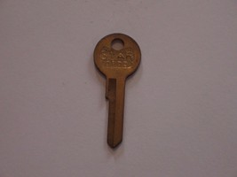Vintage Star key blank for 1955-58 Ford trunk/glove box, OFD3, 1127E, 127E, H17 - $7.00