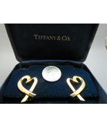 Tiffany & Co 18K Yellow Gold Paloma Picasso Lov... - $989.99