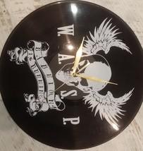 DIY W.A.S.P. Decorative Designed Modern Vinyl Record Wall Clock Silent L... - $23.74