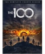 The 100: The Complete Season 4 Four DVD 2017 Brand New - $19.50