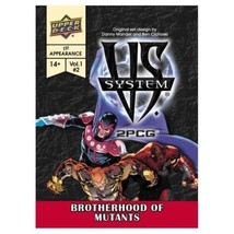 VS System 2PCG: Brotherhood of Mutants Card Game The Upper Deck Company ... - $16.99