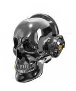 Skull Head Speaker Portable Bluetooth Bass Stereo LED Lights Holloween D... - $69.28