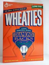 Arizona Diamondbacks 1998 Inaugural Season Wheaties Box - FULL & UNOPENED - $16.65