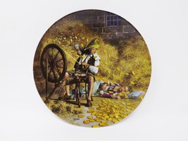 """Rumpelstilzchen"" Collectible Plate - Grimm's Fairy Tales Series - $16.14"