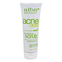 Alba Botanica Acne Dote Face & Body Scrub Maximum Strength, 8.0 oz - $14.01