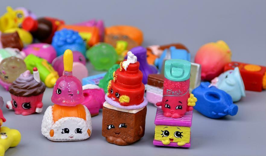 Mini Fruit Figure Toys Children Gift 100 Pieces Action Figures Western Animation image 5