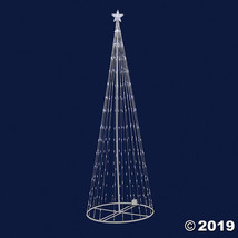 Vickerman 4' Christmas Show Tree with Warm White LED Lights - $125.25