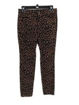 Ann Taylor Women's Brown Animal Print Super Skinny Pants Size 26P Inseam... - $17.82