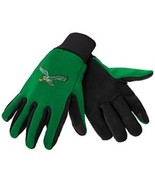 NFL Philadelphia Eagles Retro Logo Green Texting Gloves - $11.95