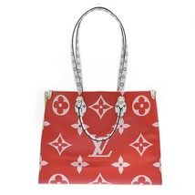 Louis Vuitton ONTHEGO Tote Giant Red Monogram bag 2019 ON THE GO M44569 - $3,940.20