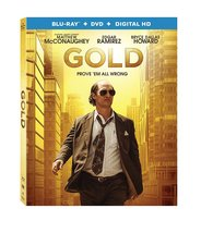 Gold (2017, Blu-ray+DVD+Digital HD)