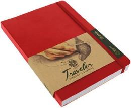 "Pentalic Traveler Pocket Journal Sketch, 8"" x 6"", Red - $10.45"