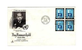 FDC ENVELOPE-2nd ANNIV.- ALLIANCE FOR PROGRESS  BL4-1963  ART CRAFT CACH... - $2.43